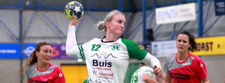 Heulse handbalsters maken uitglijder tegen Venlo meer dan goed