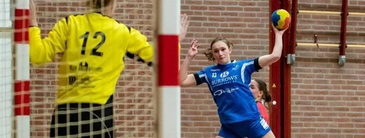 Elise Aerts geniet nog na van zege op titelkandidaat Venlo