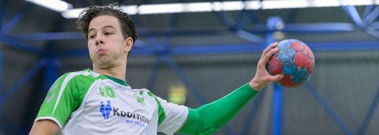 Mitchell Verbraeken (Quintus) zet punt achter handballoopbaan